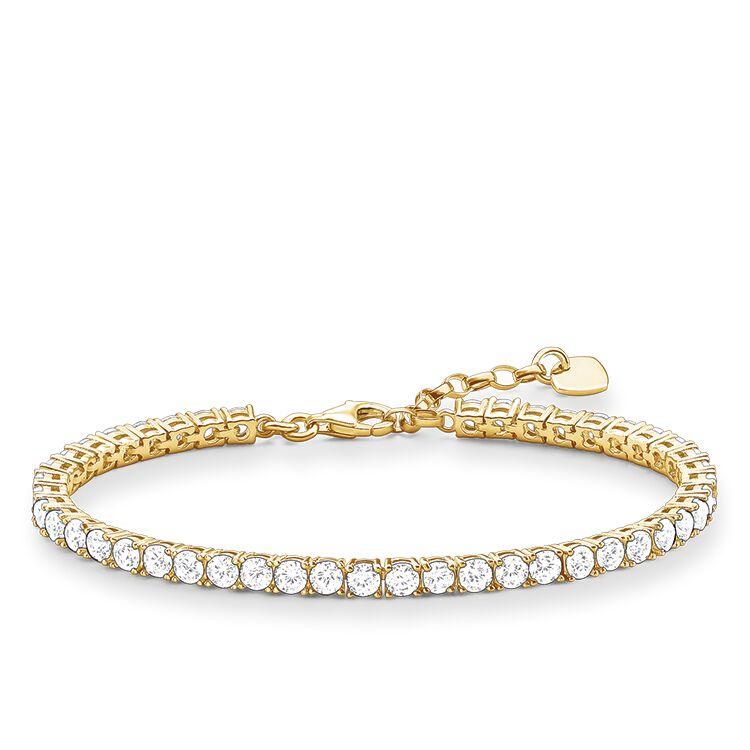 Thomas Sabo bracelet white A1484-414-14-L19,5v thumbnail