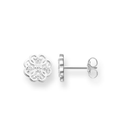 ear studs cloverleaf from the Glam & Soul collection in the THOMAS SABO online store