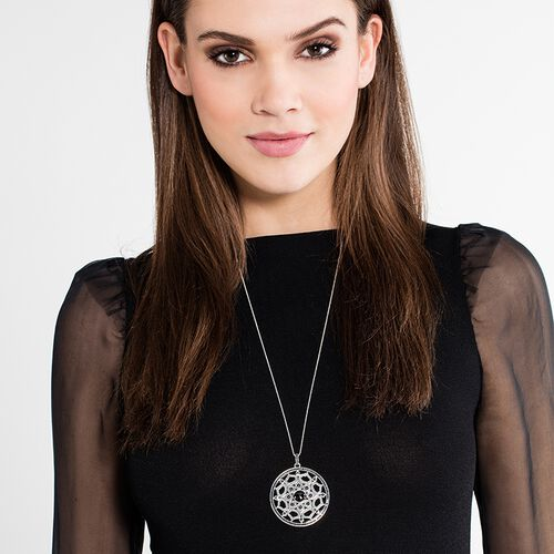 "pendant ""black lotus"" from the Glam & Soul collection in the THOMAS SABO online store"
