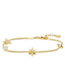 bracelet stars gold from the Glam & Soul collection in the THOMAS SABO online store