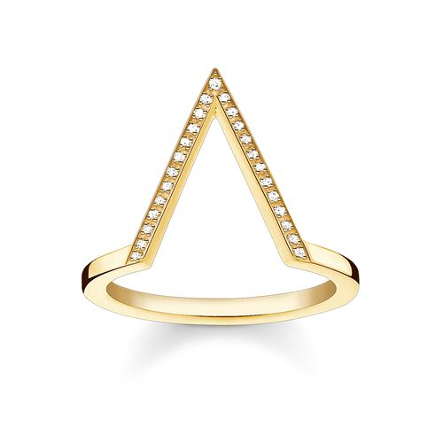 """ring """"triangle"""" from the Glam & Soul collection in the THOMAS SABO online store"""