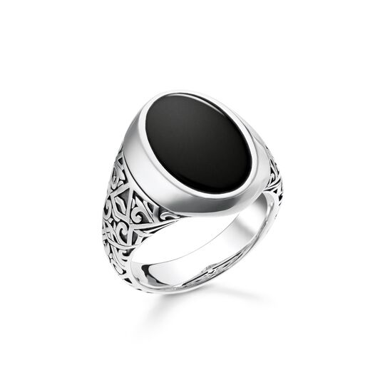 ring black from the  collection in the THOMAS SABO online store