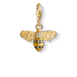 "Charm pendant ""bee"" from the Charm Club Collection collection in the THOMAS SABO online store"