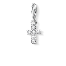 """Charm pendant """"cross"""" from the  collection in the THOMAS SABO online store"""