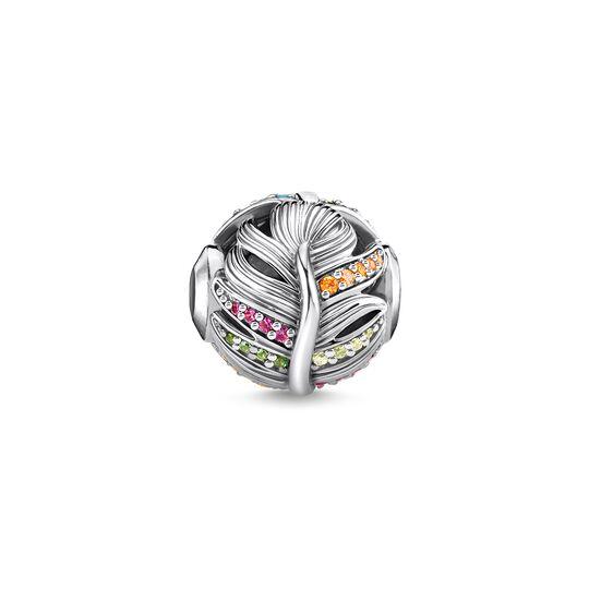 bead plume argent de la collection Karma Beads dans la boutique en ligne de THOMAS SABO