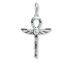 "Charm pendant ""cross of life ankh with scarab"" from the  collection in the THOMAS SABO online store"