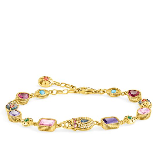 bracelet Large lucky charms, gold from the Glam & Soul collection in the THOMAS SABO online store