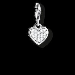 """pendentif Charm """"cœur scintillant"""" de la collection  dans la boutique en ligne de THOMAS SABO"""