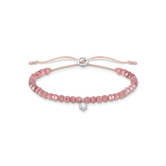 Bracelet pink pearls with white stone from the Charming Collection collection in the THOMAS SABO online store