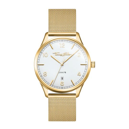 women's watch Code TS small yellow gold from the Glam & Soul collection in the THOMAS SABO online store