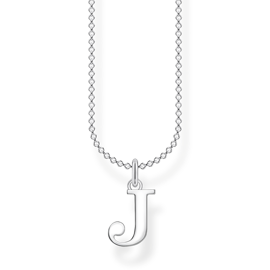Necklace letter J from the Charming Collection collection in the THOMAS SABO online store