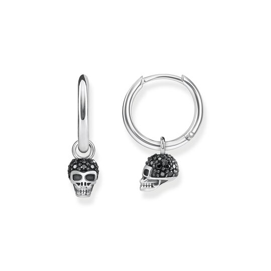 hoop earrings skull from the  collection in the THOMAS SABO online store