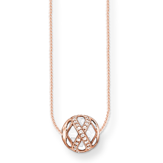necklace infinity from the Karma Beads collection in the THOMAS SABO online store