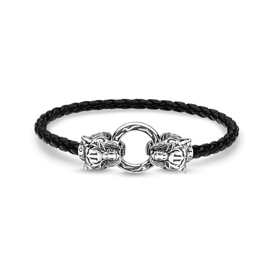 Lederarmband Tiger aus der Rebel at heart Kollektion im Online Shop von THOMAS SABO