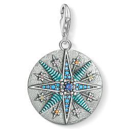 Charm pendant Vintage Star from the  collection in the THOMAS SABO online store