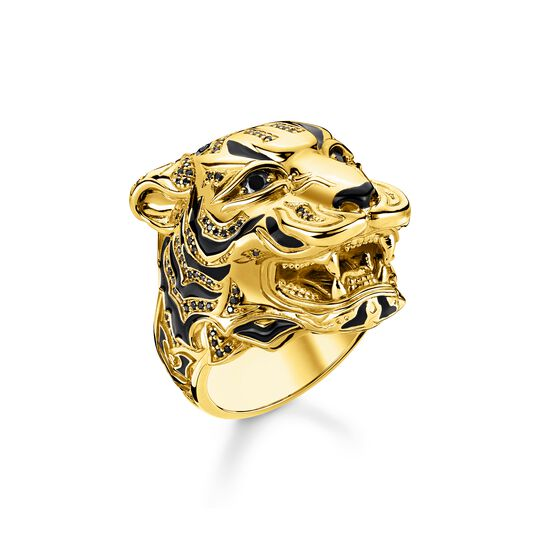 Bague tigre or de la collection  dans la boutique en ligne de THOMAS SABO