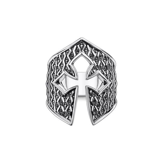 Ring knight's helmet from the  collection in the THOMAS SABO online store