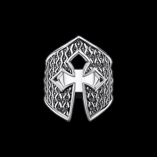 Bague casque de chevalier de la collection Rebel at heart dans la boutique en ligne de THOMAS SABO
