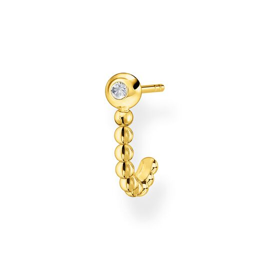 Single ear stud dots gold from the Charming Collection collection in the THOMAS SABO online store