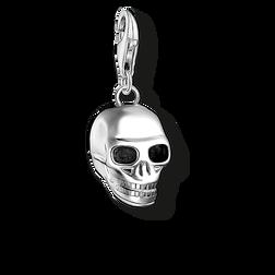 """pendentif Charm """"tête de mort argenté"""" de la collection  dans la boutique en ligne de THOMAS SABO"""