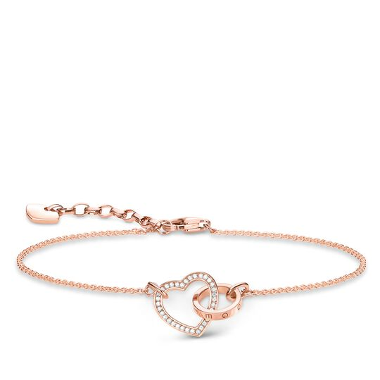 "bracelet ""Together Forever heart"" from the Glam & Soul collection in the THOMAS SABO online store"