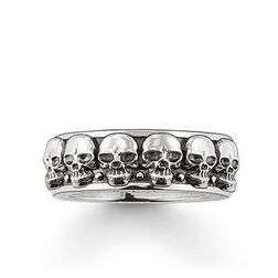 "Ring ""Totenköpfe"" aus der Rebel at heart Kollektion im Online Shop von THOMAS SABO"