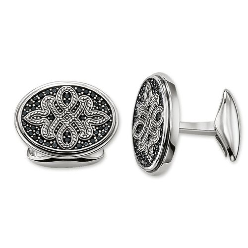 """cufflinks """"Love Knot"""" from the Rebel at heart collection in the THOMAS SABO online store"""