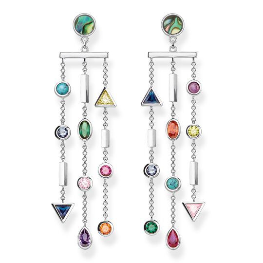 "earrings ""Colourful Stones"" from the Glam & Soul collection in the THOMAS SABO online store"