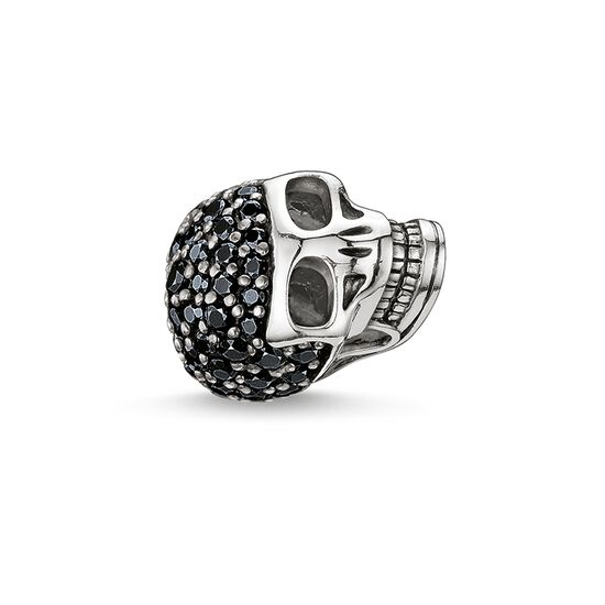 "Bead ""teschio grande con pavé"" from the Karma Beads collection in the THOMAS SABO online store"