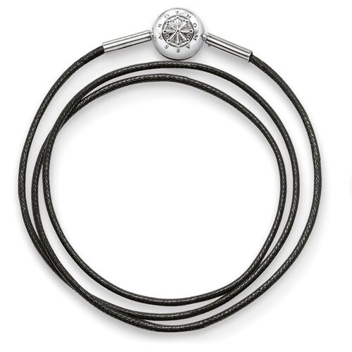 "bracelet for Beads ""black"" from the Karma Beads collection in the THOMAS SABO online store"