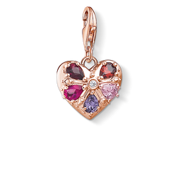 "ciondolo Charm ""cuore"" from the Glam & Soul collection in the THOMAS SABO online store"