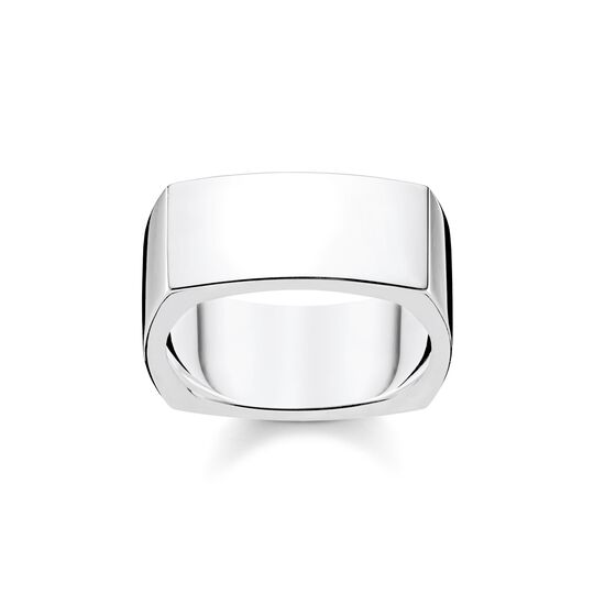ring Square silver from the  collection in the THOMAS SABO online store