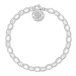 "Charm bracelet ""diamond"" from the  collection in the THOMAS SABO online store"