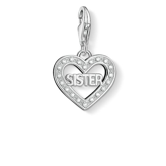 Charm pendant SISTER from the  collection in the THOMAS SABO online store