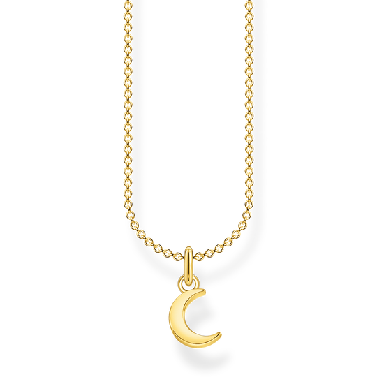 Necklace moon gold from the Charming Collection collection in the THOMAS SABO online store