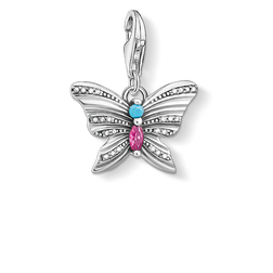 charm pendant butterfly silver from the  collection in the THOMAS SABO online store