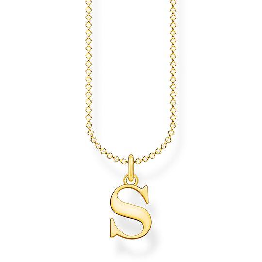 Kette Buchstabe S gold aus der Charming Collection Kollektion im Online Shop von THOMAS SABO