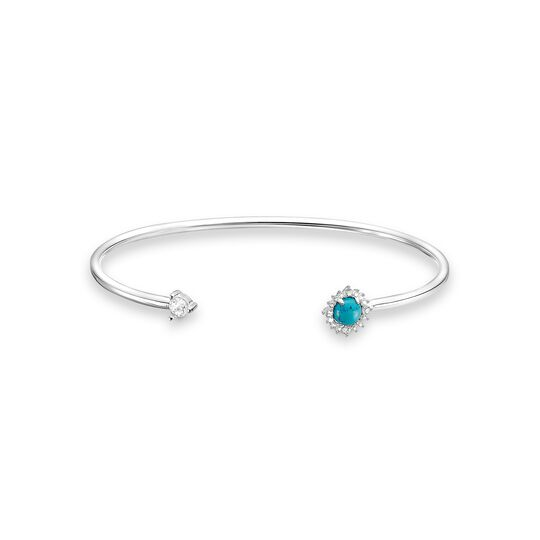 Bangle turquoise stone from the Charming Collection collection in the THOMAS SABO online store