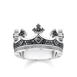 "ring ""crown"" from the Rebel at heart collection in the THOMAS SABO online store"