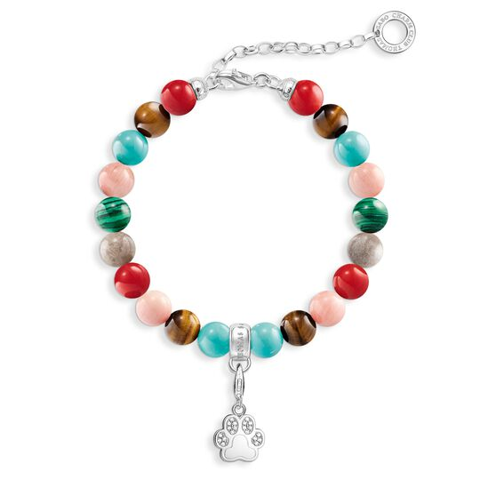 "Charm bracelet ""paw"" from the  collection in the THOMAS SABO online store"
