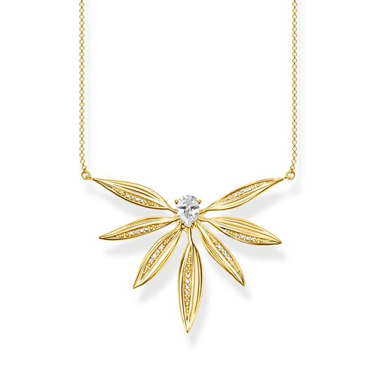 necklace leaves large gold from the  collection in the THOMAS SABO online store