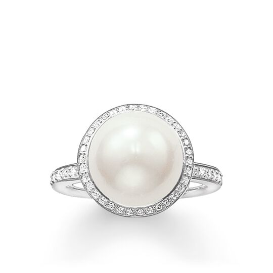 ring pearl from the Glam & Soul collection in the THOMAS SABO online store