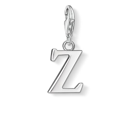 "Charm pendant ""letter Z"" from the  collection in the THOMAS SABO online store"
