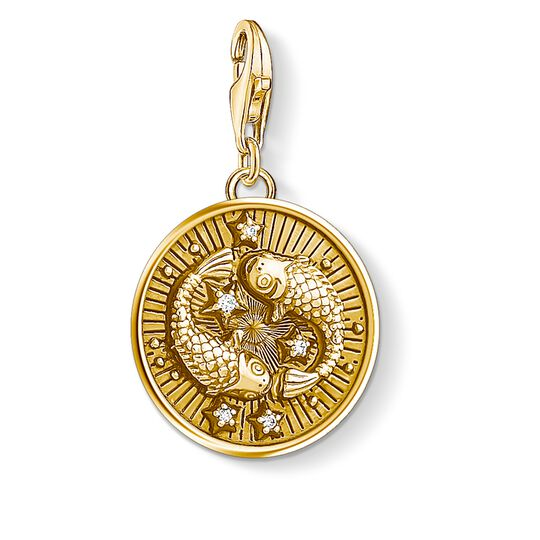 """Charm pendant """"zodiac sign Pisces"""" from the  collection in the THOMAS SABO online store"""