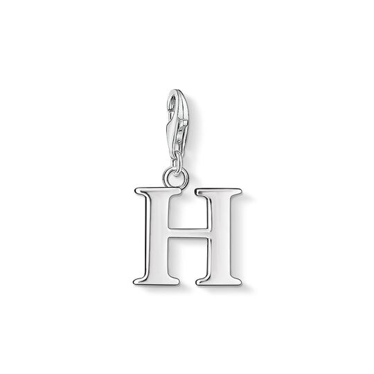 Charm pendant letter H from the Charm Club collection in the THOMAS SABO online store