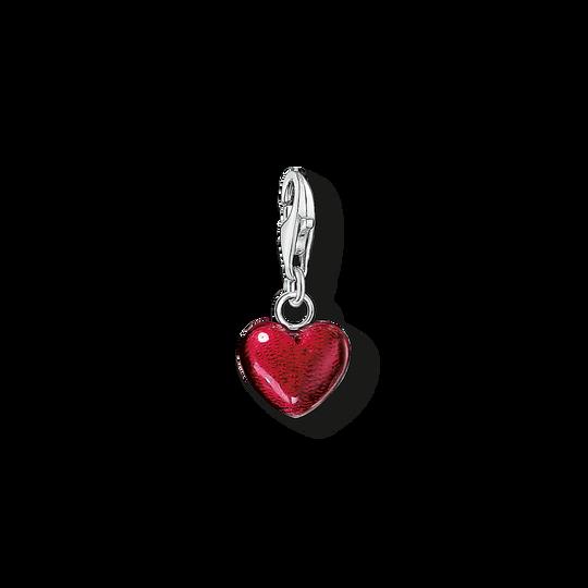 pendentif Charm cœur rouge de la collection Charm Club dans la boutique en ligne de THOMAS SABO