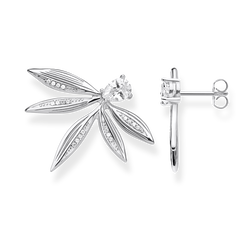 ear studs leaves silver from the Glam & Soul collection in the THOMAS SABO online store