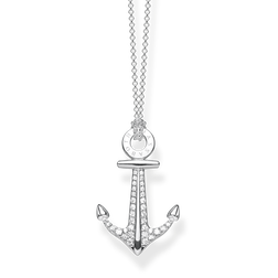 "necklace ""anchor"" from the Glam & Soul collection in the THOMAS SABO online store"