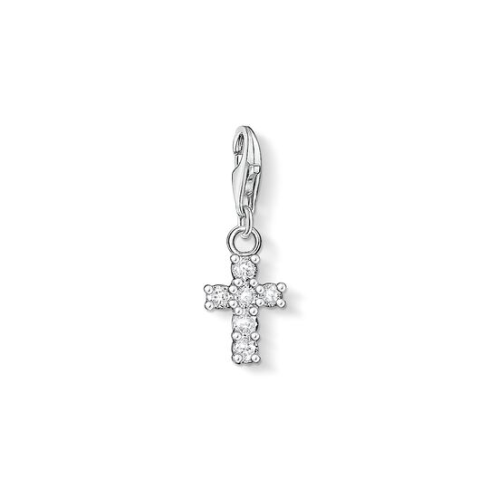 Charm pendant cross from the Charm Club collection in the THOMAS SABO online store