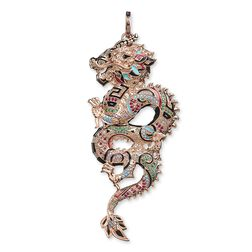 pendant chinese Dragon from the Glam & Soul collection in the THOMAS SABO online store